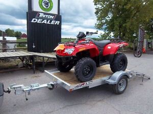 GET OUT AND RIDE PACKAGE! ATV, TRAILER, HELMET!