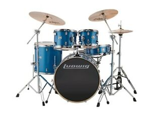 Almost Brand New Ludwig Drum Kit - great for beginners