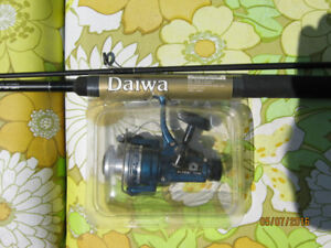 NEW Daiwa Composite Fishing Rod and Reel