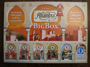 Jeu Alhambra Big Box game