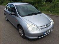 Honda Civic 1.4 S- Full Years MOT, Service history, Cheap to Insure and run