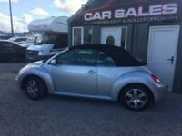 2008 VOLKSWAGEN BEETLE 1.6 LUNA 8V 101 BHP CONVERTIBLE FINANCE PARTX AVALIABLE