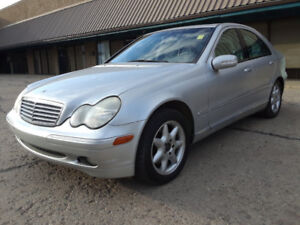 02 BENZ C320 202135KM $3500 FULLY CERTIFIED, BUY WITH CONFIDENCE