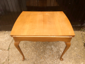 Vintage extending dining table - delivery available
