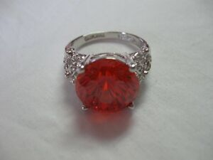 From Estate - Red Ring - size 10