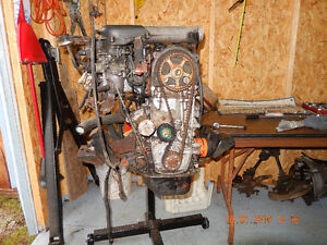 1993 Suzuki engine- manual transmission- and complete rear end.