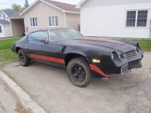 81 camaro z28 rolling chassis