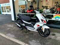 PEUGEOT SPEEDFIGHT 4 R-CUP 50 CC WHITE SCOOTER MOPED BRAND NEW 2020 MODEL