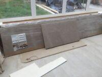 Brand New 3 sheets Wickes gloss laminate worktops