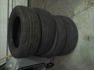 4 GOODYEAR INTEGRITY P225/60R16 TIRES
