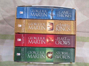 Game of Thrones Series Book Set - Books #1-4