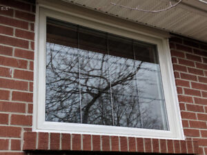Vinyl Sliding Hung Window Casement  Installation