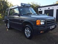 2002 Land Rover Discovery 2.5Td5 7 Seater Full Service History
