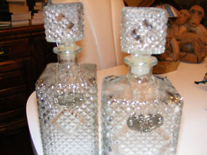 Drink Canister (RYE) cut glass Kawartha Lakes Peterborough Area image 2