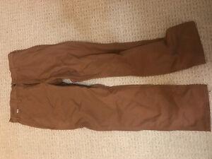 34x32 men's carhartt FR work pants. NEVER WORN