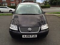 Automatic VW sharan 1.9 TDI SE 7 seats full mot great runner