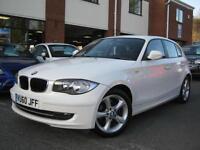 2010 60-Reg BMW 118d Sport,GEN 66,000 MILES,ALPINE WHITE,£30 YEAR TAX!!!!