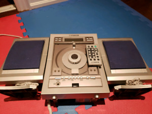 CD player with AM/FM tuner