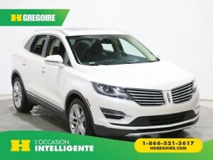 2015 Lincoln MKC RESERVE AWD CUIR TOIT PANO NAV MAGS 19''