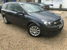 2006 '56' Vauxhall Astra 1.9 CDTi DESIGN. Diesel. Manual. Estate. Px Swap