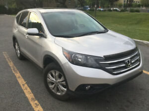 2013 Honda CRV EX-L AWD 42000km Leather interior Silver Color
