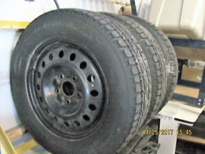 BE PERPARED 4 WINTER TIRES AND RIMS FOR MINI VAN
