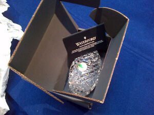 Waterford Crystal Football paper weight for All Star Dad Kitchener / Waterloo Kitchener Area image 5