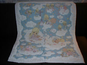 New Precious Moments quilt, pillow, border & switch plate...