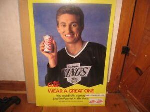 Wayne Gretzky Coke Poster