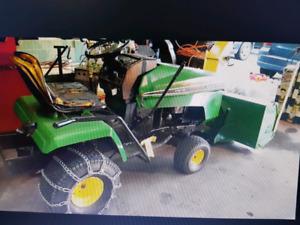 Tracteur souffleur yard pro