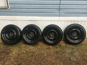205 55 R16 winters tires on rims