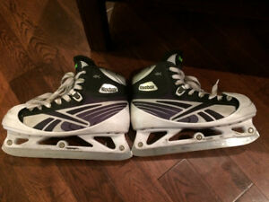 2 pair of Reebok goalie skates
