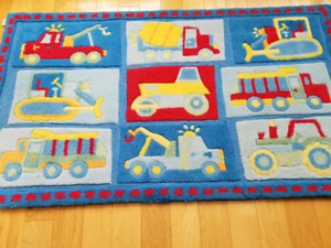 """Mat for baby/boys room 48"""" X 28"""""""