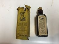 125 years old vintage vapo cresolene vapor solution 2 oz collectible bottle dates to 1891