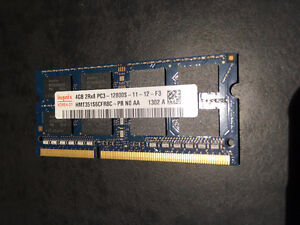 Mémoire – RAM – 2 x 4GB – Mac – Macbook Pro