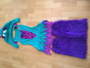Fuzzy Frankie Monster Female Adult  Halloween Costume