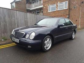 Mercedes-Benz E240 2.6 Auto Elegance 2001 ONLY 37,000 MILES FROM NEW