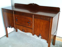 Antique Buffet Sideboard
