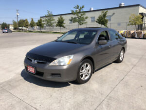 2007 Honda Accord , Sunroof , 4 door, 3 Years Warranty Available