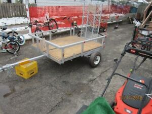 4x5 trailer new,,,,,,,and 4 all season tires on dodge rims