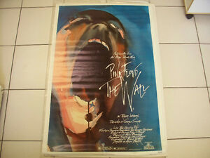 Classic Pink Floyd The Wall Original Movie TheatrePoster Cir1982