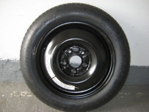 OEM Spare Tire and wheel 5 lugs: T135/90D15