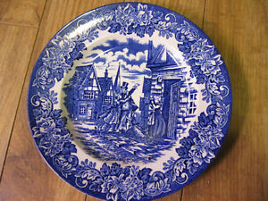 assiette english ironstone England Angleterre 7 3/4 pouces