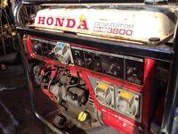 Honda generator x2 110V