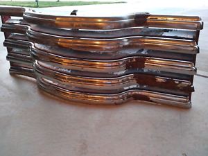 47-54 Chevy pickup chrome patina front grill