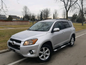 2009 Toyota RAV4 Limited Fully loades Clean car Proof