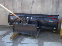 10' commercial snow plow