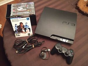 300 GB PS3, racing games Great condirion