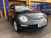 2011 Volkswagen Beetle 1.6 Luna Black 44,000 Miles