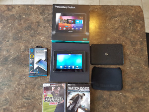 Mint Condition Blackberry Playbook 32GB w/2 cases and free goods